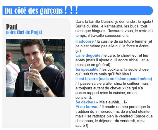 Paul - NotreFamille.com